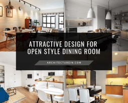 Attractive Design For Open Style Dining Room Featured
