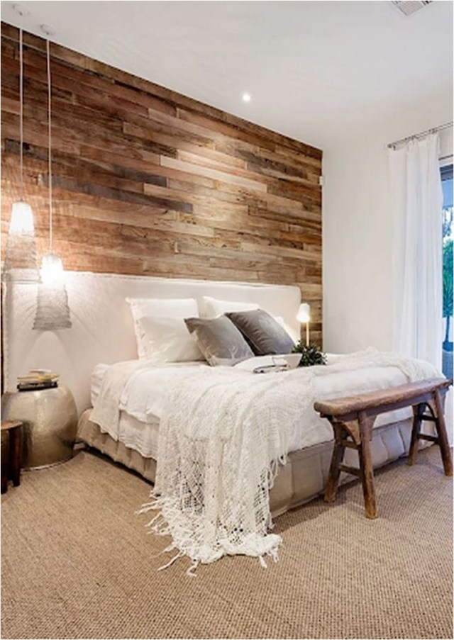 Carpet As Texture Accent In Bedroom