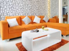 Colorful Sofa for Instagramable Guest Room