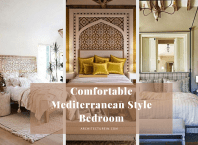 Comfortable Mediterranean Style Bedroom Ideas