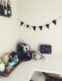 Corner Room for Personal Coffee Shop at Home