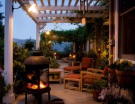Covered Patio Lighting