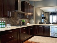 Dark Brown Kitchen Set