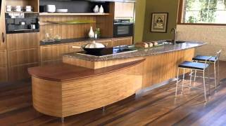 Dominant Wood Material for Unique Japanese Kitchen Design