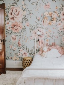Floral Shabby Chic Kids Bedroom Decorations
