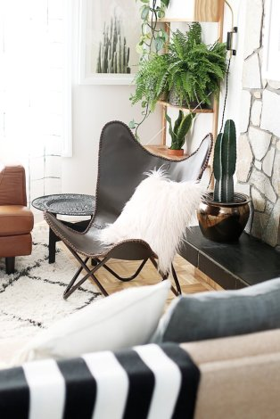 Fur Accents for Instagramable Guest Room