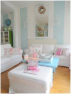 Gentle Colors for Shabby Chic Style Minimalist Home Inspiration