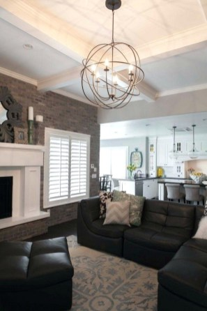 Living Room Highlight Decorative Ceilings