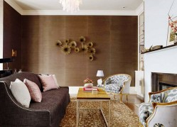 Metallic Accents For Instagramable Living Room