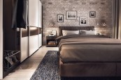 Modern Nuances for Awesome Industrial Bedroom Inspiration