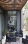 Nice Ideas For Changing Terrace Into Closed Living Room (1)