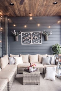 Nice Ideas For Changing Terrace Into Closed Living Room (7)