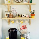 Pastel Colors Personal Coffee Shop At Home