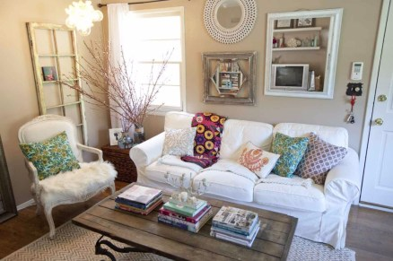 Pillow Style for Shabby Chic Style Minimalist Home Inspiration