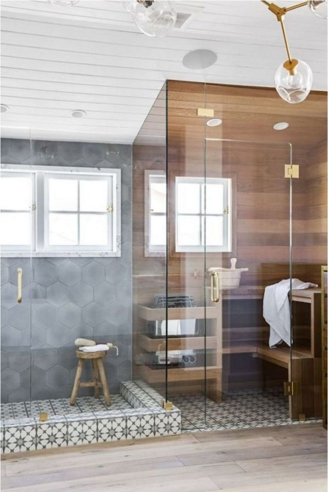 Sauna Style Bathroom Design