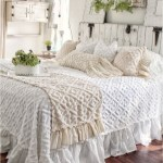 Shabby Chic Bedroom With Ruffle Bed