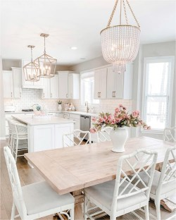 Shabby Chic Kithen Bar And Dining Room