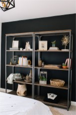 Styling Wood And Steel Book Shelves