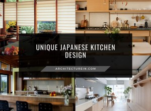 Unique Japanese Kitchen Designs