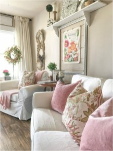 Vintage Pillow Style For Shabby Chic Living Room