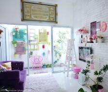 Wallpaper for Shabby Chic Style Minimalist Home Inspiration