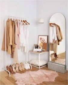 Wardrobe And Standing Mirror