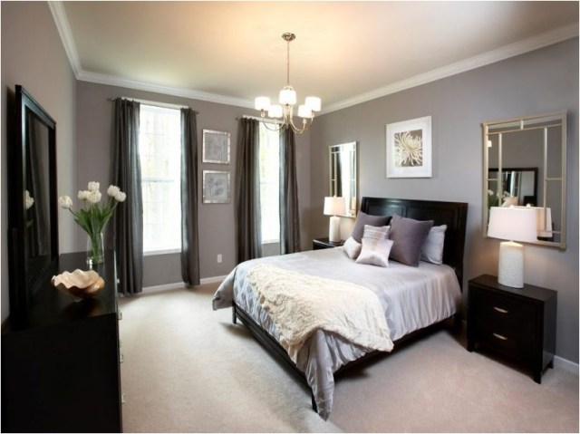 White And Brown Mediterranean Bedroom Ideas