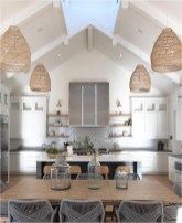 White And Wood Accent Kitchen Rustic