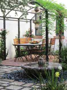 Backyard for Open Style Dining Room
