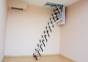 Stairs for Comfort Attic Bedroom