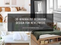 30 Minimalist Bedroom Design For Newlyweds
