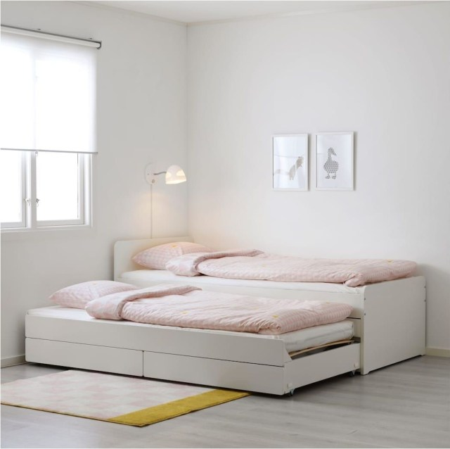 8 Soft Pink Twin Bed Bedroom Decorations