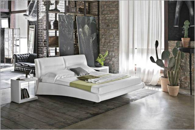 The Wilderness for Bedroom with Brick Accents
