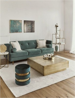 Wood Floor And White Wall Living Room Apartment Ideas