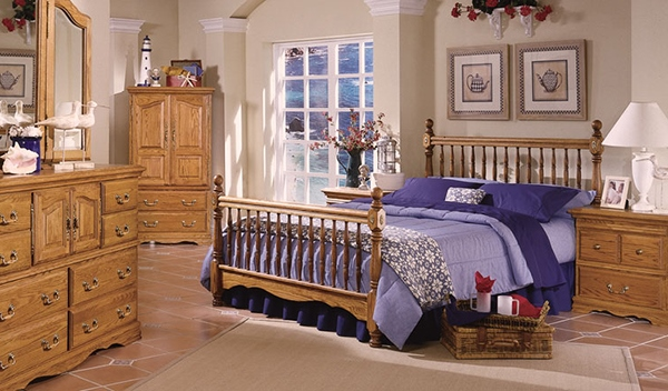 Glamour for Wooden Furniture in Your Bedroom