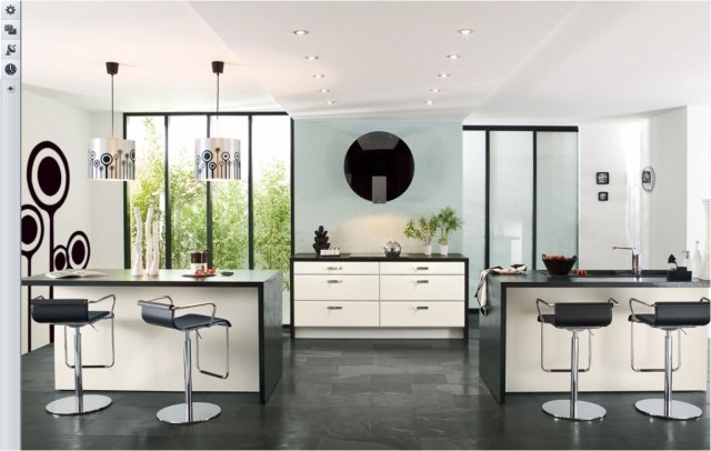 Modern Classic Kitchen Ideas With Black And White