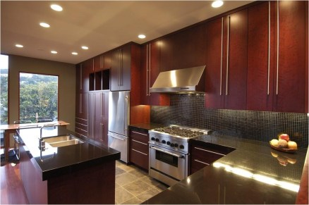Red Wooden Cabinet Ideas