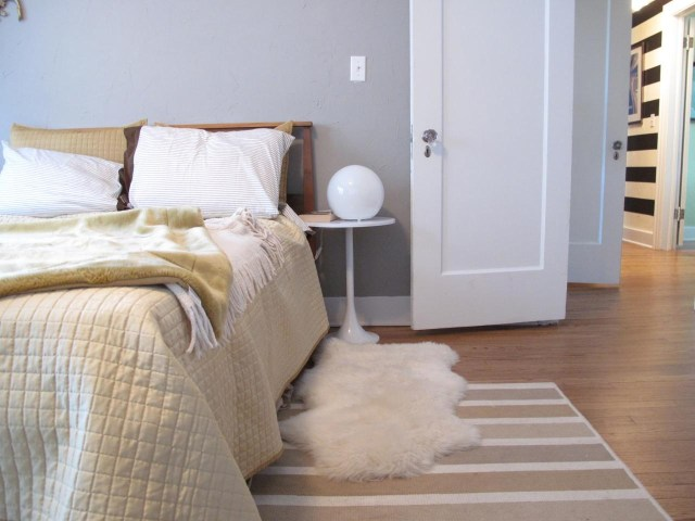 Carpets for Designing Korean Style Minimalist Bedroom