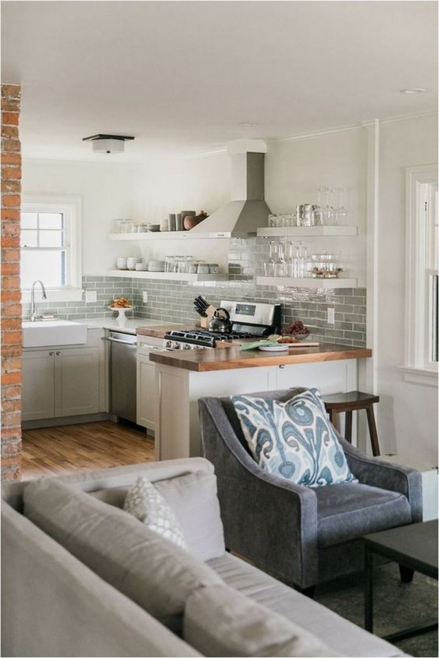 Kitchen Table Partitions To Family Room Ideas
