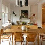 Perfect Room for Dining Room Interior with Traditional Touch of Wood