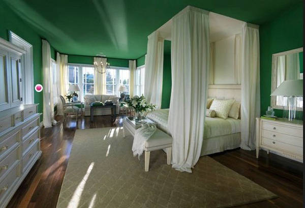 Romantic for Green Bedrooms Inspiration