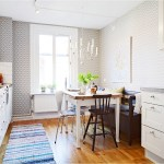 Small Kitchen Integrated With Dining Room Ideas