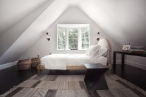 Triangle for Unique and Inspiring Bedroom Window Sills