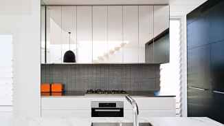 Mirror for Change the 2x3 Meters Sized Small Kitchen