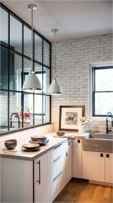Mirror To Make Small Kitchen Look Larger