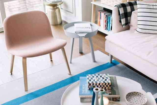 Simple Seat for Millennial Pink Style Bedroom Design