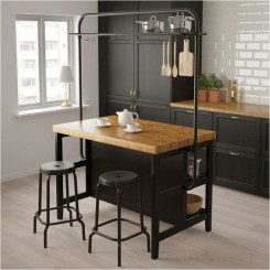 Small Kitchen With Industrial Themes