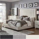 Bedroom Grey Color Tone Ideas