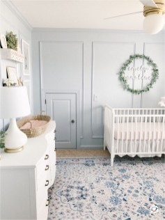 Blue Baby Boy Nursery Room
