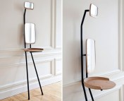 Standing Dressing Table for a Charming Minimalist Dresser